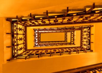 Escalier La Scala de Milan Italie
