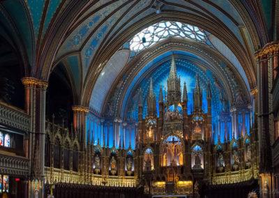 Basilique Notre Dame de Montréal QC Canada