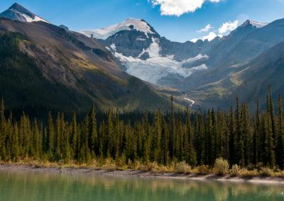 Route des glaciers Canada AB