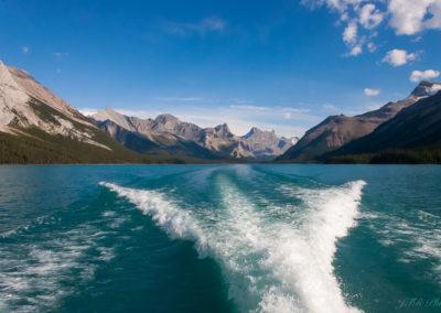 Lac Maligne et Rocheuse Canadienne AB