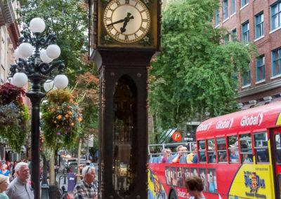 Horloge à vapeur Vancouver Canada BC