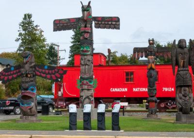 Totem Duncan Canada BC