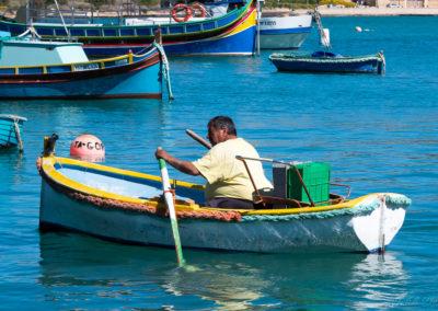 Marsaxlokk Île de Malte